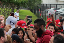 Red Nation welcomes the Rockets back home.