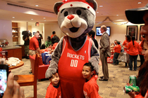 Season of Giving - Rockets Host Goodfellows Holiday Party -