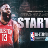 James Harden Voted a Starter for 2019 NBA All-Star Game