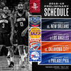 Rockets 2018-19 Preliminary Schedule Announced