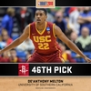 Rockets Select Melton with 46th Pick
