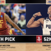 Rockets Acquire Two Players in 2018 NBA Draft