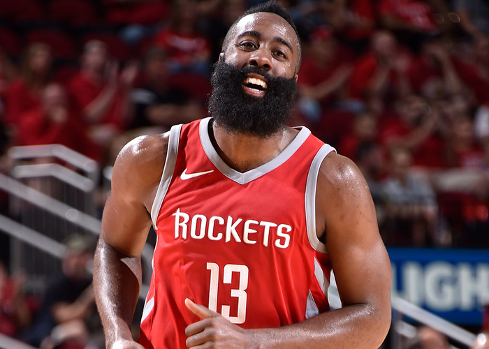 Rockets James Harden Named NBA Western Conference Player Of The Week
