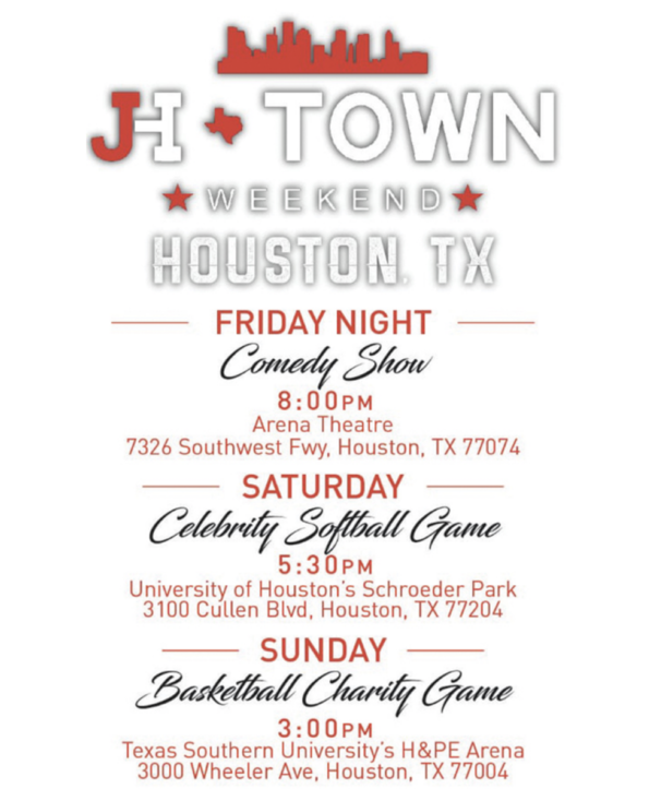 J H-Town Weekend is Back Aug. 17th-19th