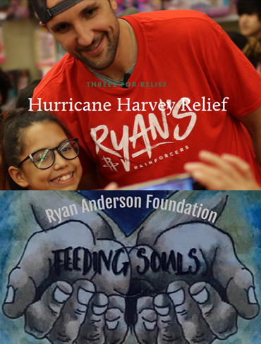 Pledge to Ryan Anderson's 3's for Relief