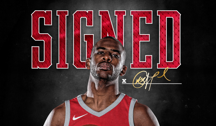 Rockets Re-sign Chris Paul