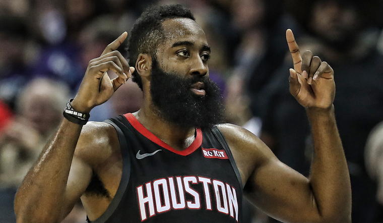 6f043b81f0a James Harden Named All-NBA First Team - unanimous selection for 3rd  straight season