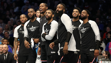 Photos: Harden at NBA All-Star 2019