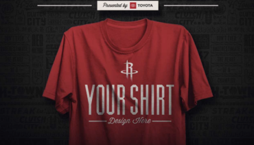 Contest: Design Your Rockets Shirt & Win!