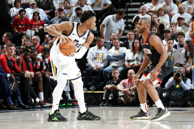 Houston Rockets v Utah Jazz - Game Four