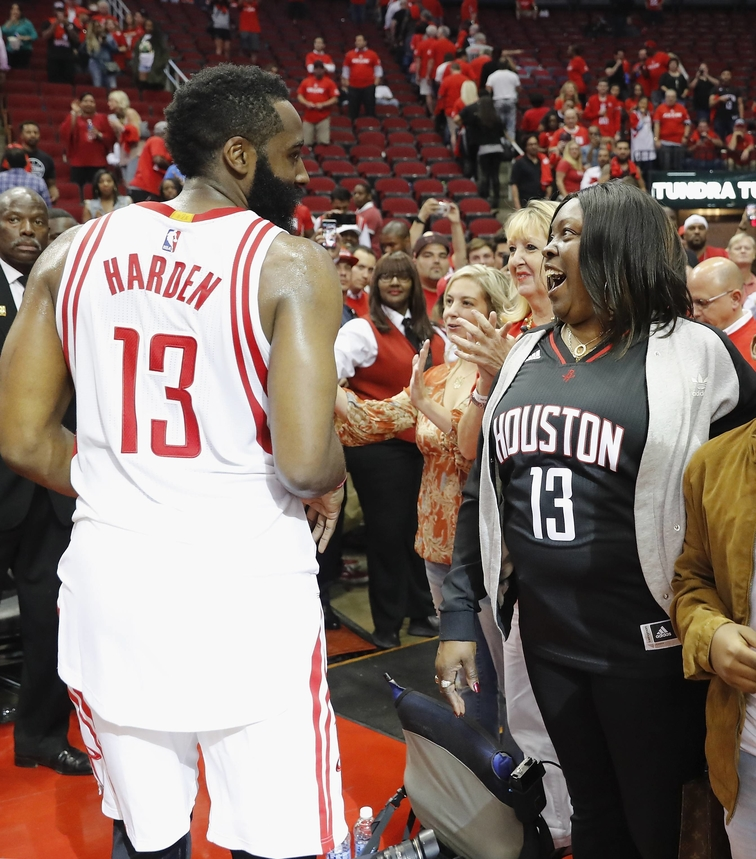 Harden And His Mom On How Sports Shaped Him