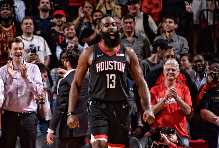 Rockets star Chris Paul says James Harden's run is 'crazy'