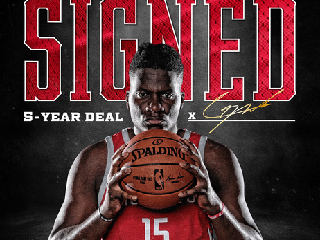 Rockets Re-sign Clint Capela