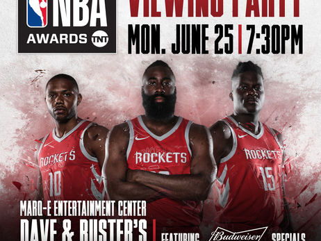 Rockets NBA Awards Viewing Party
