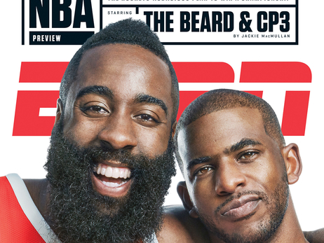 ESPN the Magazine Article featuring Harden and CP3