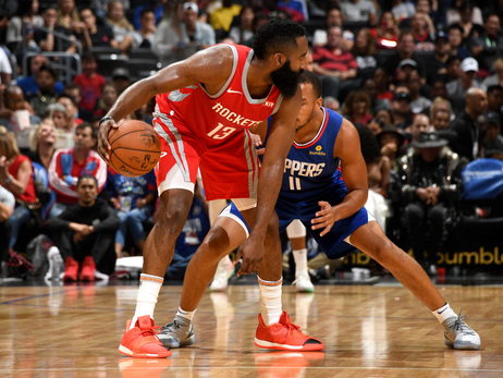 Photo Gallery: Rockets at Clippers 10-21-18