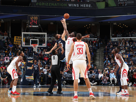 Photo Gallery: Rockets at Grizzlies 10/28/17