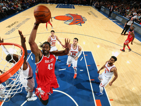 Photo Gallery: Rockets vs. Knicks 11/1/17
