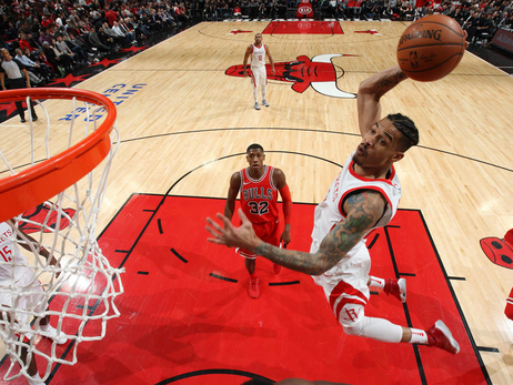 Photo Gallery: Rockets at Bulls 1-8-18