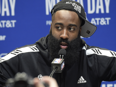 Photos: James Harden at NBA All-Star 2019