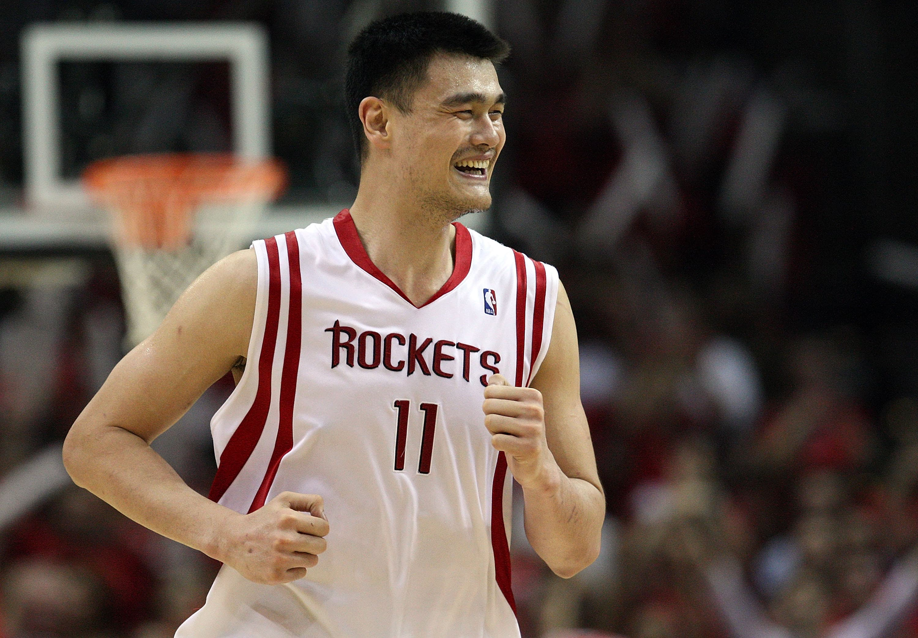 Rockets To Retire Yao Ming S 11 At Halftime Of Game Vs
