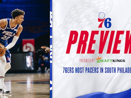 76ers Host Pacers in South Philadelphia