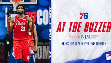 76ers Top Jazz in Overtime Thriller
