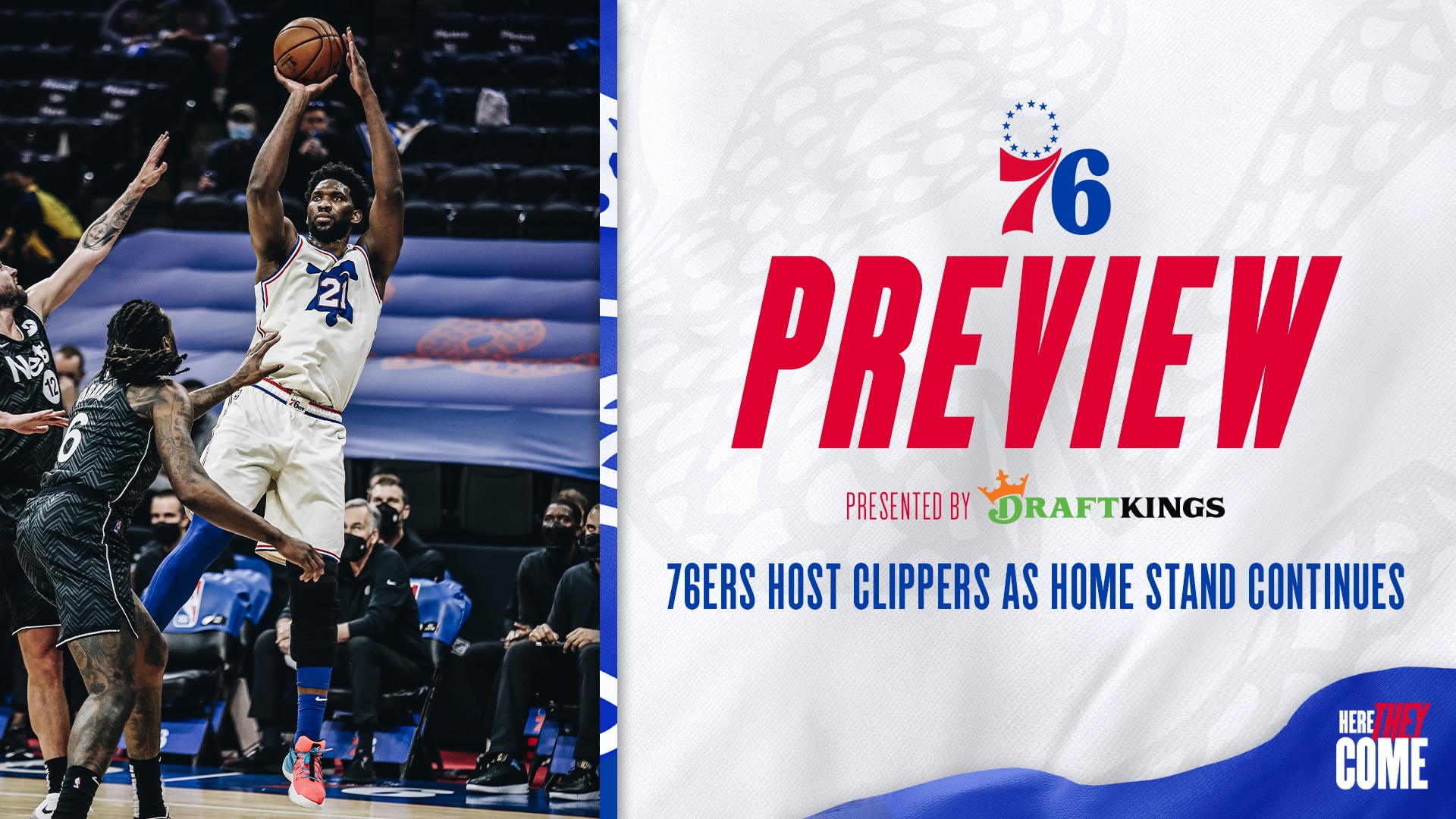 76ers Host Clippers as Home Stand Continues