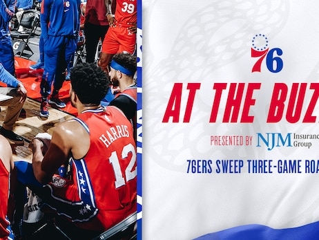 76ers Sweep Three-Game Road Trip