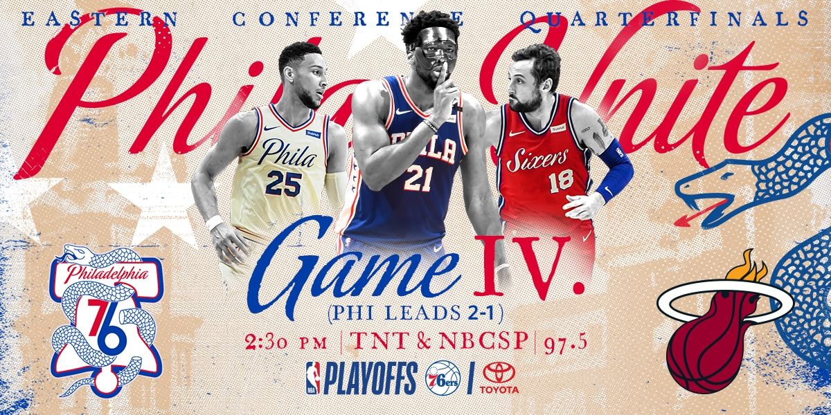 Playoffs Game Preview  Embiid Believes He's Built for Post-Season
