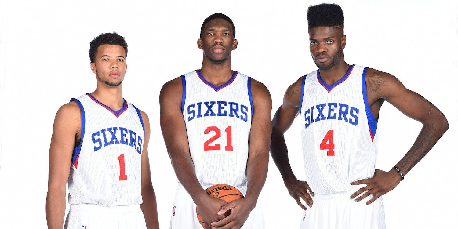 Sixers Announce 2014 15 Opening Night Roster