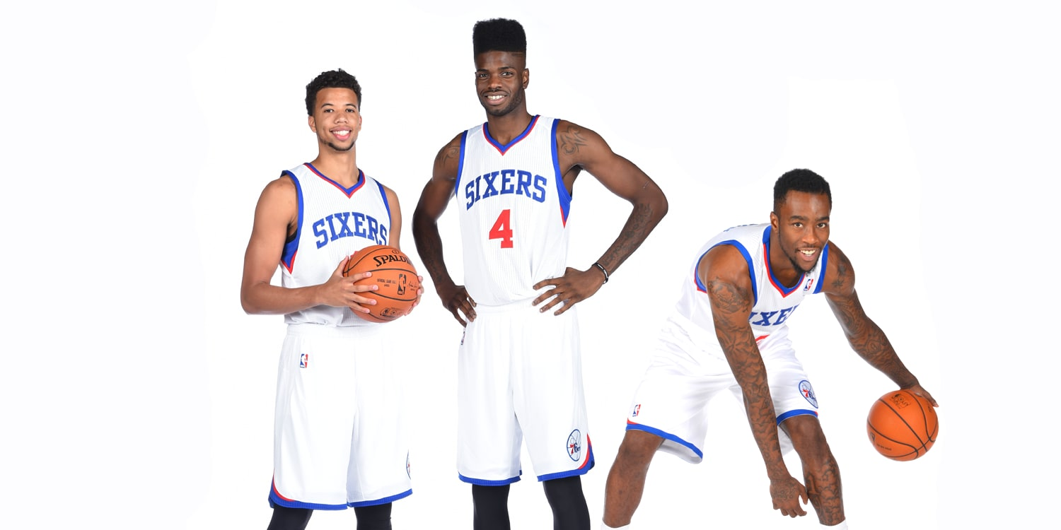 sixers exercise team options on three players