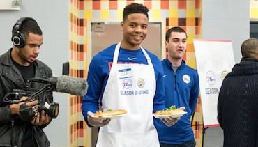 Photos | Giving Back at Camden's Cathedral Kitchen
