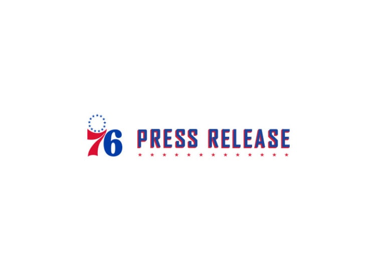 image about 76ers Printable Schedule identify Employees Announces Advertising Program Philadelphia 76ers