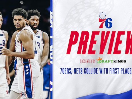 76ers, Nets Collide With First Place on the Line