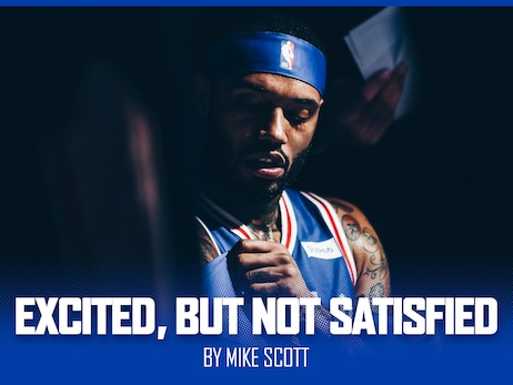 Excited, But Not Satisfied by Mike Scott