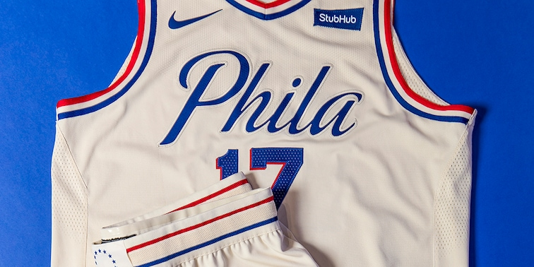 meet 32ed8 81024 Sixers Unveil New 'City Edition' Uniform | Philadelphia 76ers