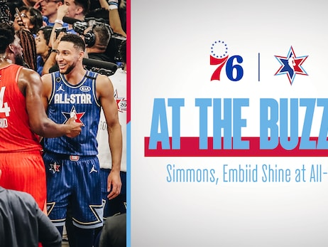 Simmons, Embiid Shine in All-Star Game
