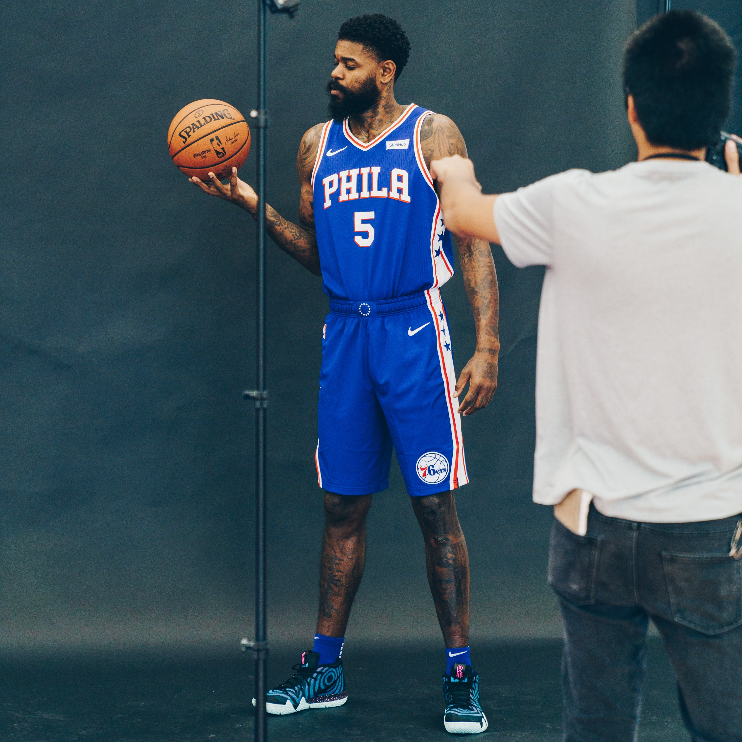 Photos Behind The Scenes Of 2018 19 Media Day