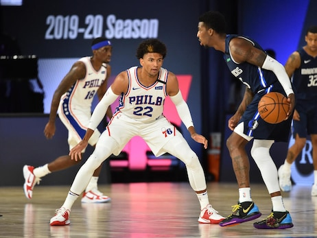 Photos | Scrimmage: 76ers vs Mavericks (7.28.20)