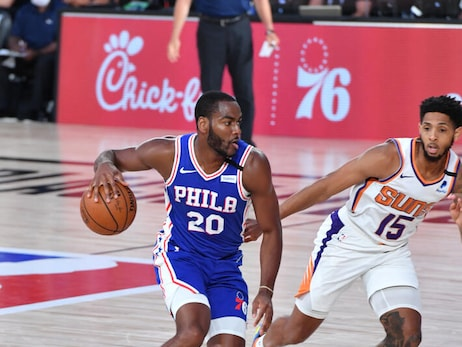 Photos | 76ers vs Suns (08.11.20)