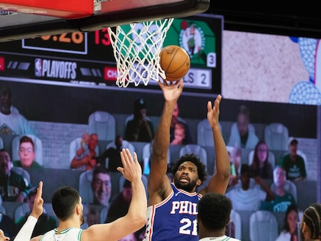 Photos | Game 4: 76ers vs Celtics (08.23.20)