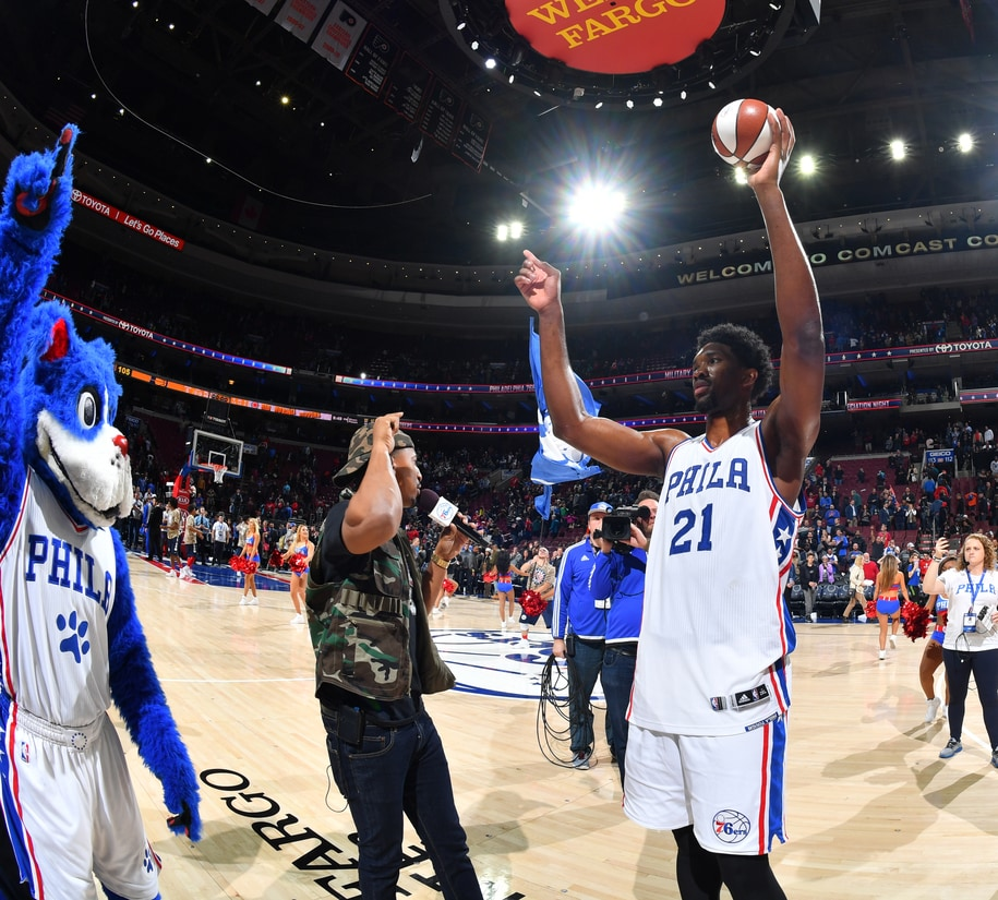 Game Recap Embiid Helps Sixers Close Out Pacers For First