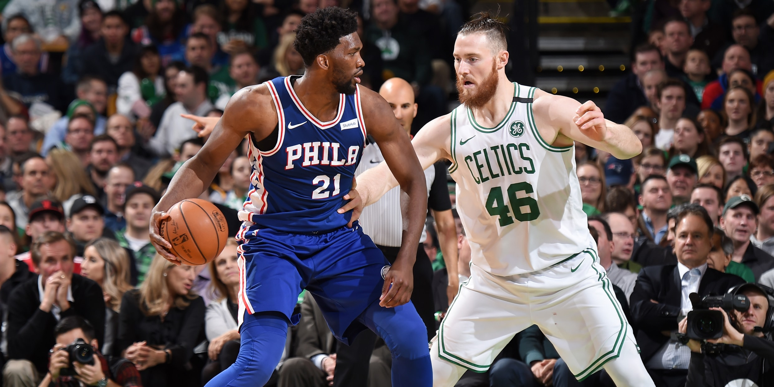 In Review | Coveted Win Over Celtics Caps Season's First Half | Philadelphia 76ers