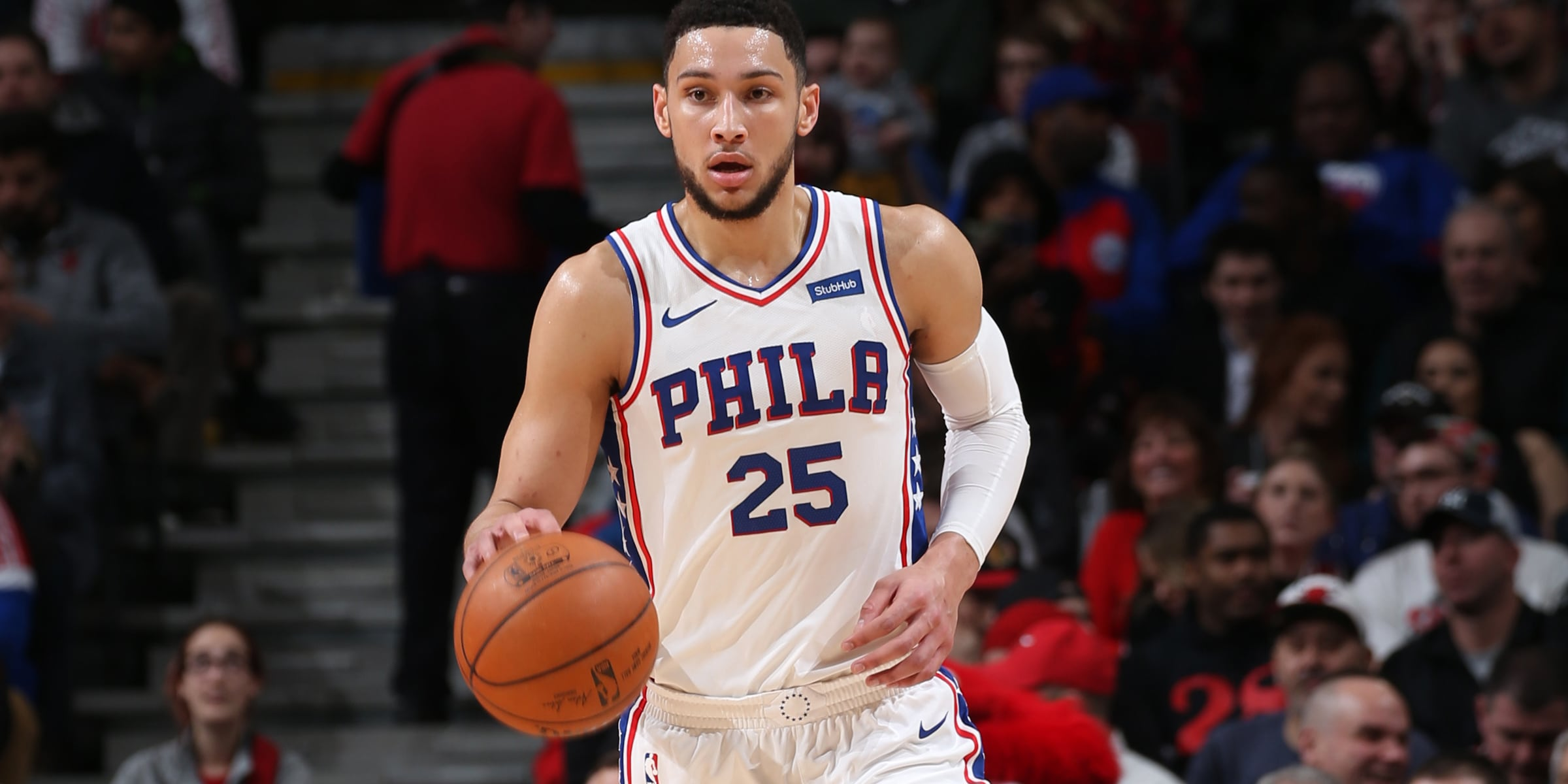 Game Review  Simmons Embiid Lead Way to 6th Straight Win