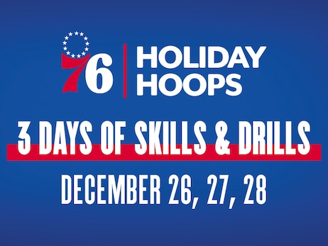 76ers Holiday Hoops Camps is Back!