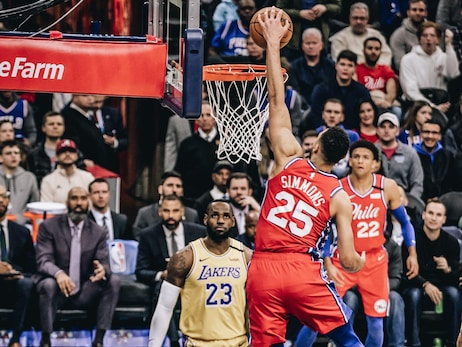 Photos | 76ers vs Lakers (1.25.20)