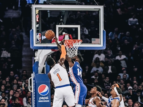 Photos | 76ers @ Knicks (1.18.20)