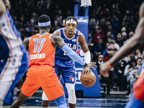 Photos | 76ers vs Thunder (1.6.20)