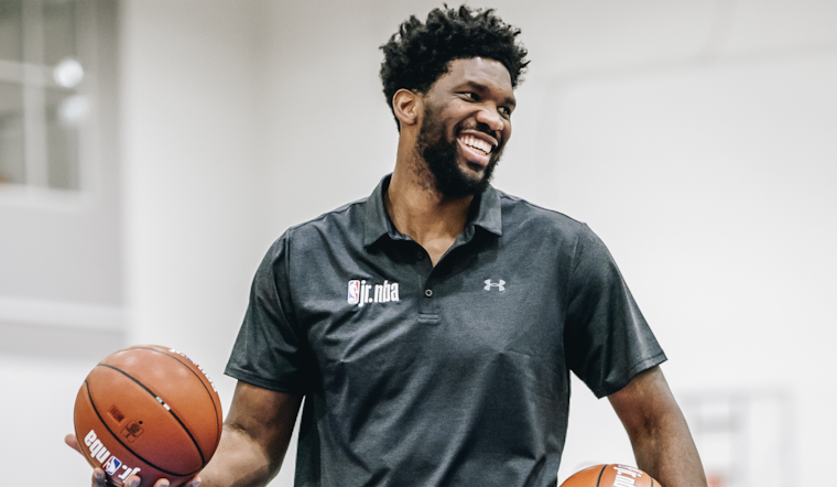 Embiid to Donate $100,000 to Combat Homelessness in Philadelphia